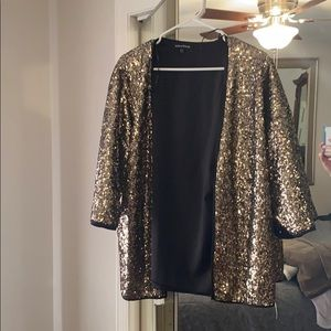 Gold Sequin Tunic ✨